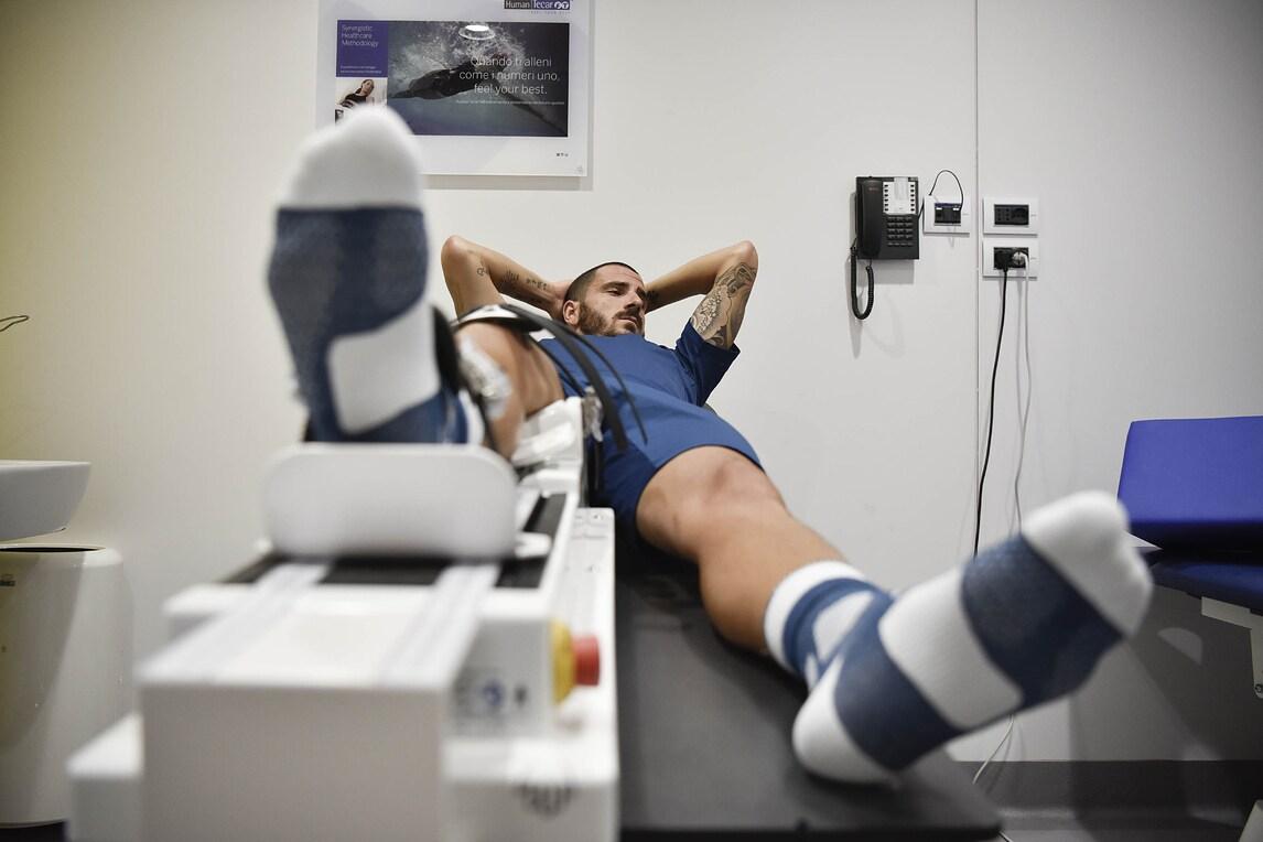 Juventus, ultimo allenamento per Bonucci?