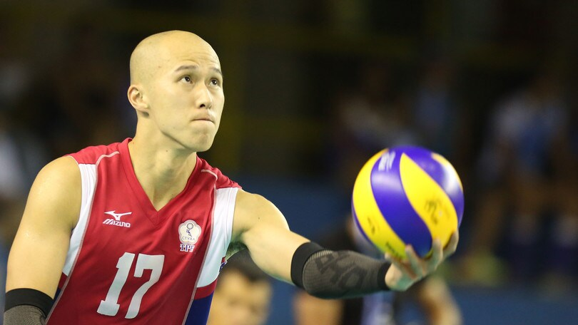 Volley: Superlega, a Latina il palleggiatore arriva da Taiwan,
