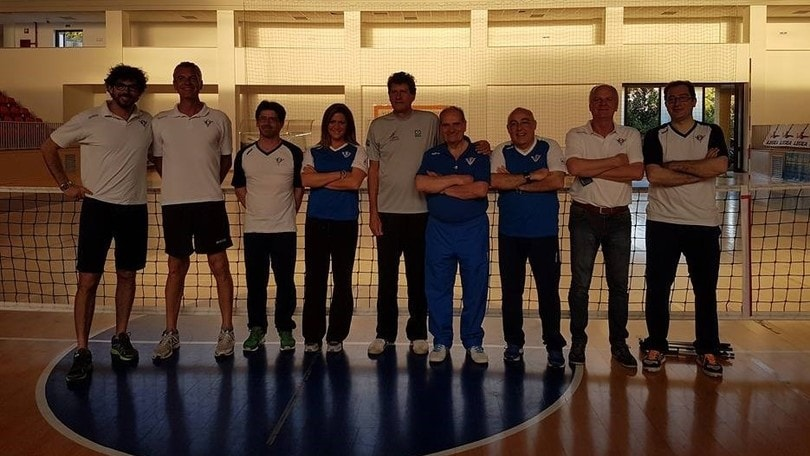 Sitting Volley: le nazionali in raduno al Centro Pavesi