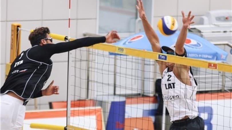 Beach Volley: a Long Beach un successo e un ko per Caminati-Ranghieri