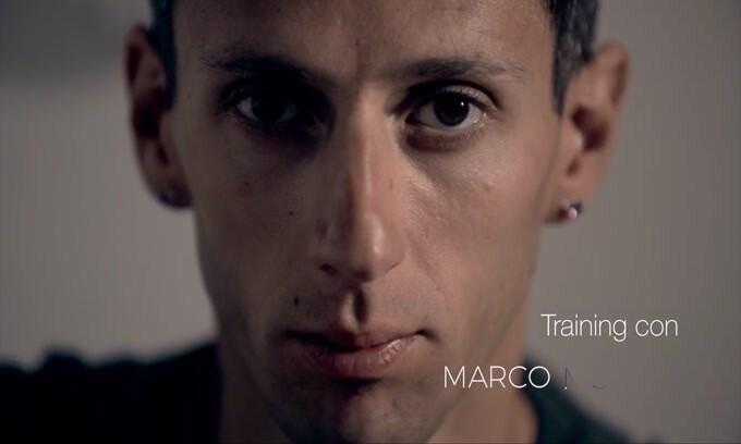 Marco Moletto: 507 sessioni di allenamento l'anno