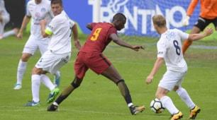 Roma-Slovacko 1-0, le immagini della seconda vittoria di Di Francesco