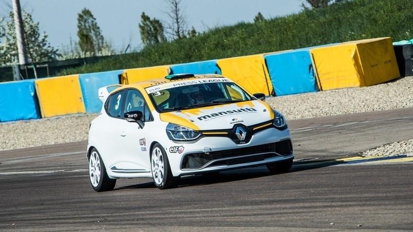 Renautl Clio Cup, il Corsport in pista a Misano