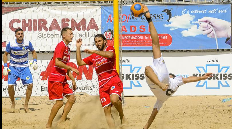 Beach soccer: segui LIVE la 3° tappa