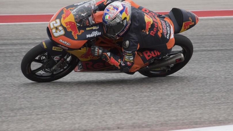 MotoGp Red Bull KTM, Smith: «Con l'infortunio non sono me stesso»