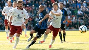 L'Inter perde 2-1 contro il Norimberga