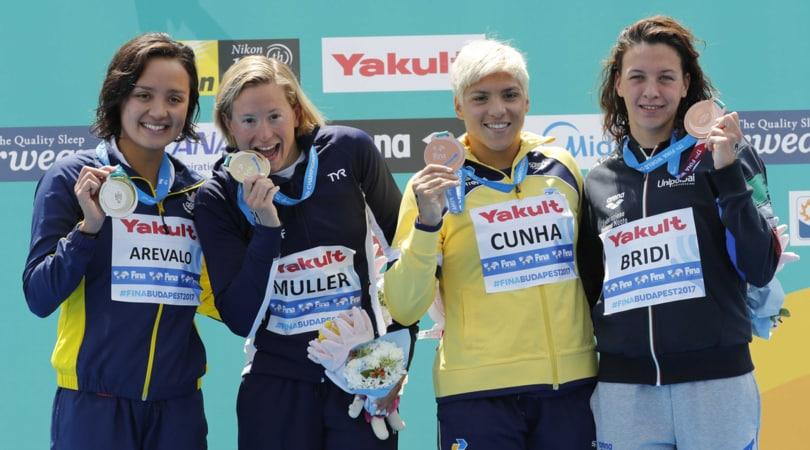 Nuoto, Mondiali: Arianna Bridi di bronzo nella 10 km