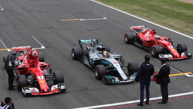 F1 Gp Silverstone: dominio Hamilton, Raikkonen 3° e Vettel 7°