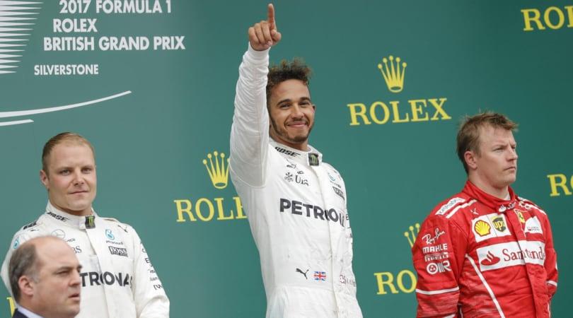 F1 Silverstone, doppietta Mercedes: Raikkonen e Vettel, che sfortuna!