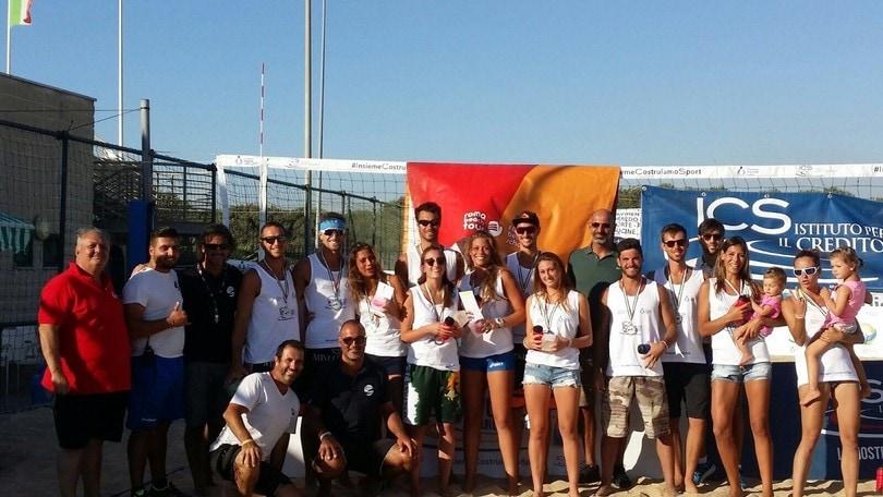 Beach Volley: Tour Lazio a Maccarese vincono le sorelle Mansueti e Rossi-Morelli