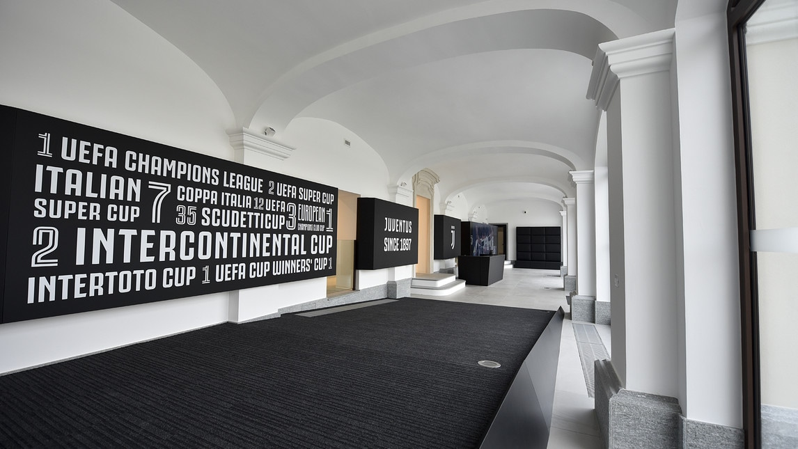 <p>Il club presenta la sede che ospiter&agrave; gli uffici del club campione d&#39;Italia</p>