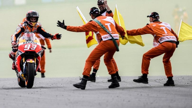 MotoGp, Marquez e Pedrosa in pista a Brno per i test