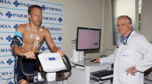 Lazio, le visite mediche di Lucas Leiva
