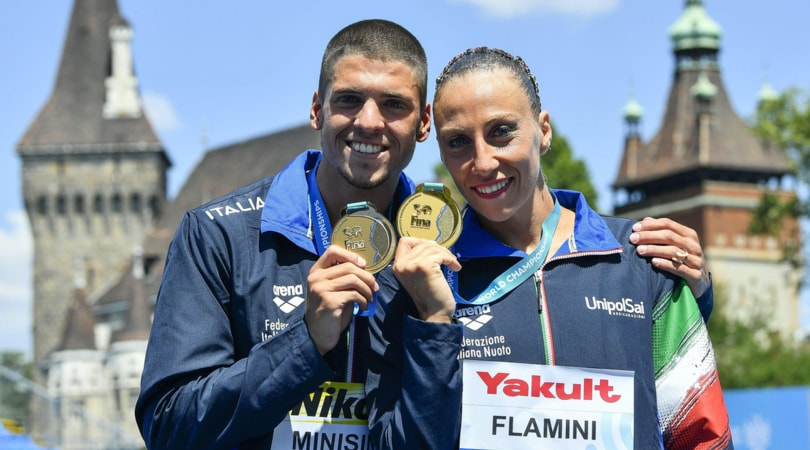Mondiali Budapest, nuoto sincronizzato: Flamini e Minisini, storico oro
