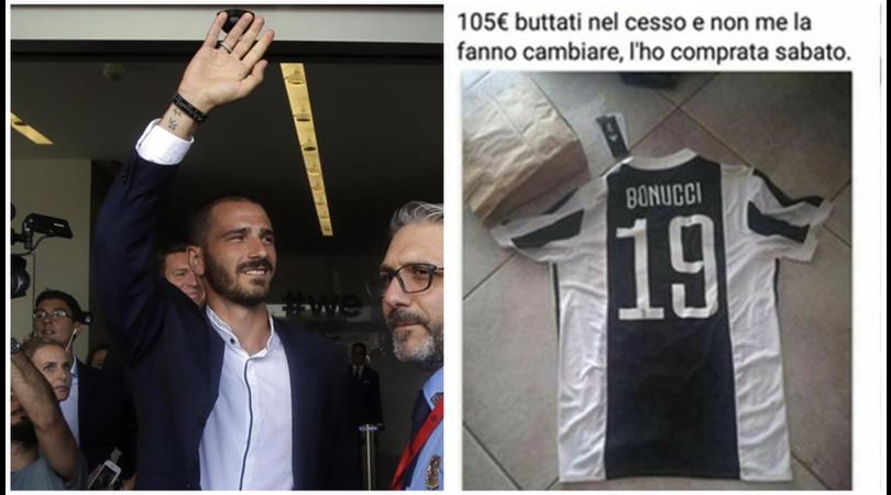 Milan, Bonucci carico: