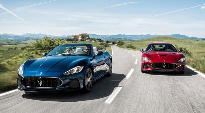 Maserati GranTurismo e GranCabrio: ancora più esclusive