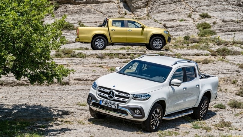 Mercedes Classe X, scatta l'ora del pick-up