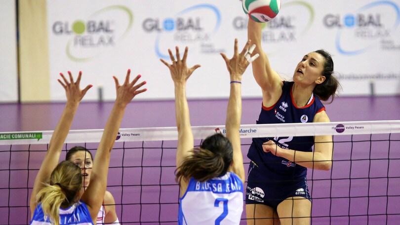 Volley: A1 Femminile, Alessia Arciprete, altro cavallo di ritorno per Pesaro