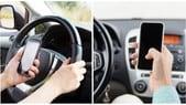 Patente sospesa subito per chi telefona mentre guida