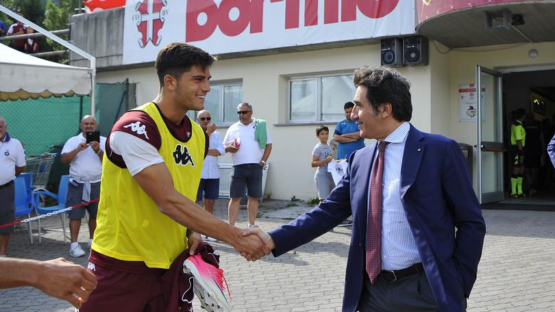 Torino, Cairo: «Non voglio vendere Belotti e non ho sentito il Milan»