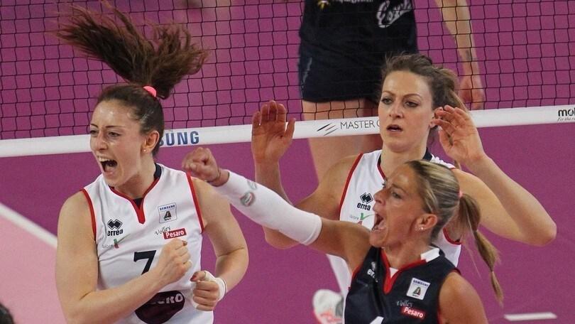 Volley: A1 femminile, Gloria Baldi arriva a Pesaro