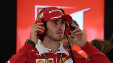 F1, Giovinazzi: «Spero di avere un posto l'anno prossimo»