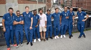Juventus e Pirlo, di nuovo insieme a New York