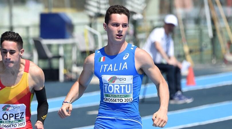 Atletica, Europei Under 20: Tortu oro sui 100 metri