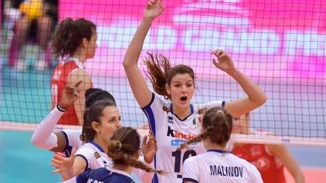 Volley: Grand Prix, le azzurre centrano la Final Six
