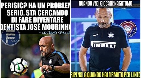Il mercato dell'Inter non decolla: l'ironia social su Spalletti