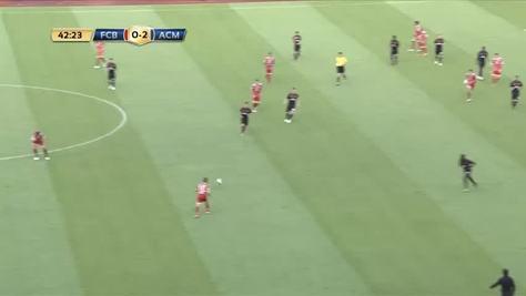 Milan, gol in stile Barça!