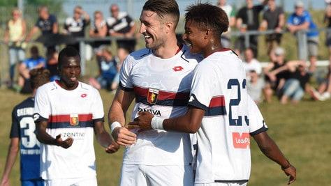 Serie A Genoa, battuto l'Hoffenheim 3-2