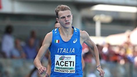 Atletica, Europei U20: Aceti vince l'oro sui 400 metri