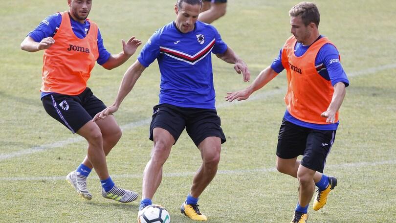Serie A Sampdoria, fisioterapia per Caprari