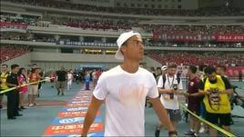 Cina, delirio a Shanghai per Ronaldo!