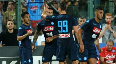 Napoli-Chievo 1-1: Ounas risponde a Inglese