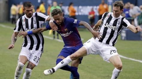 Juventus-Barcellona 1-2: Neymar show, Chiellini non basta
