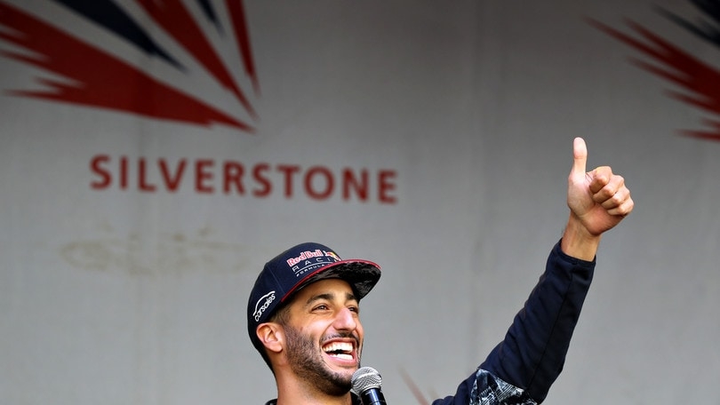 F1 Ungheria, Ricciardo: «Pronto a fare bene!»