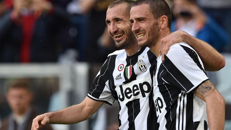 Calciomercato Juventus, Chiellini sincero: «Bonucci mi mancherà»