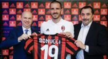 Bonucci: «Milan? 7 Coppe dei Campioni non le vinci per caso»