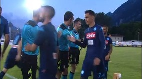 Napoli: finisce 1-1 l'amichevole contro il Chievo Verona