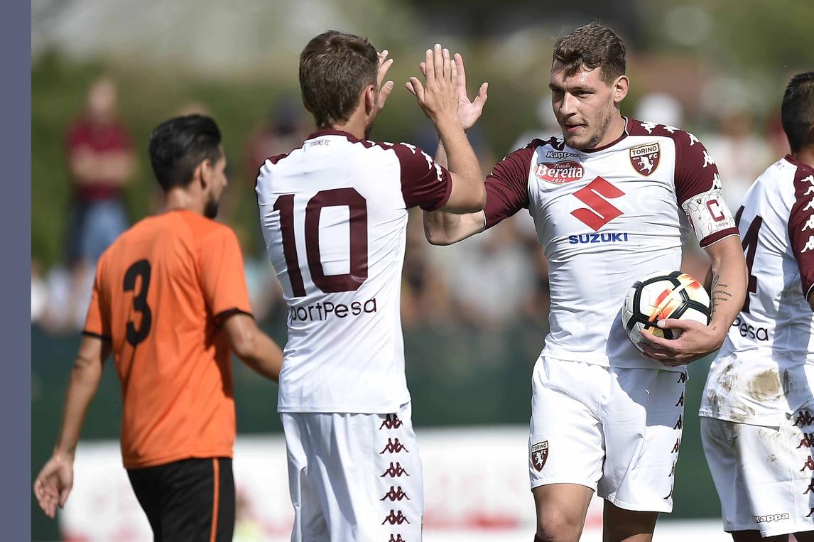 Serie A Torino, cinquina al Renate: Belotti c'è sempre
