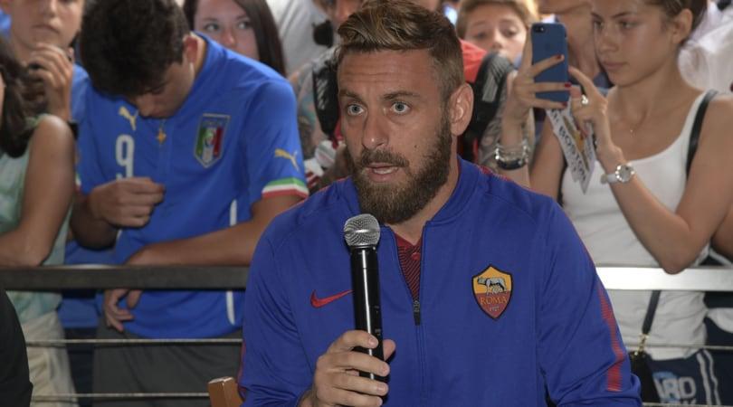 De Rossi: «Scudetto al Napoli? No, vuole vincerlo la Roma»