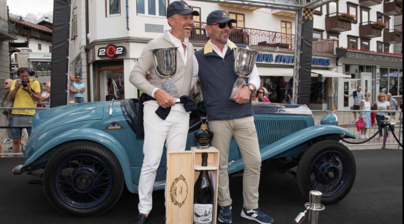 Coppa Oro delle Dolomiti, vince una FIat del '32