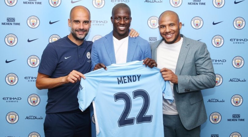 Manchester City, ufficiale Mendy
