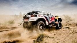 Peugeot regina delle dune al Silk Way Rally