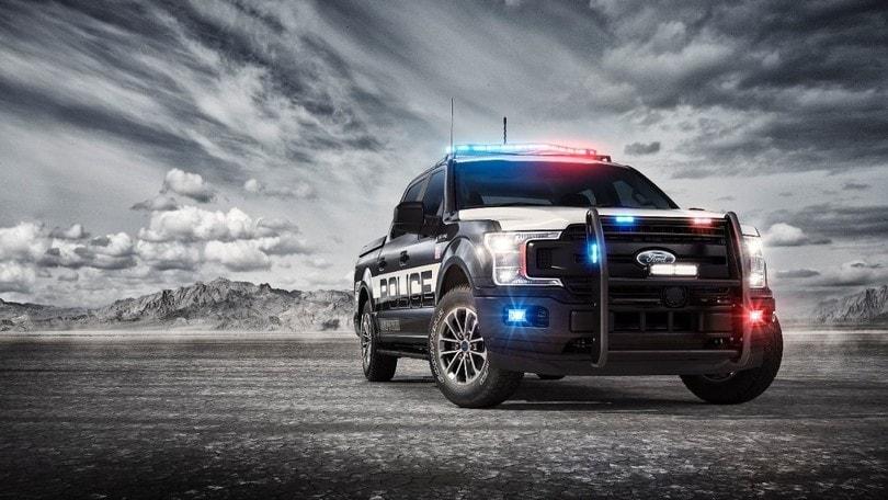 """Ford F-150 Police Responder, il pick-up dei """"cop"""" americani"""