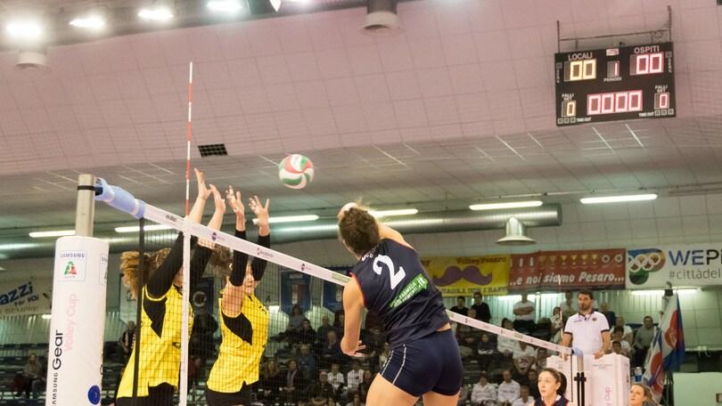 Volley: A1 femminile, a Pesaro arriva Chiara Lapi