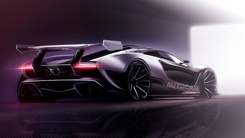 McLaren P15, sarà la stradale più estrema