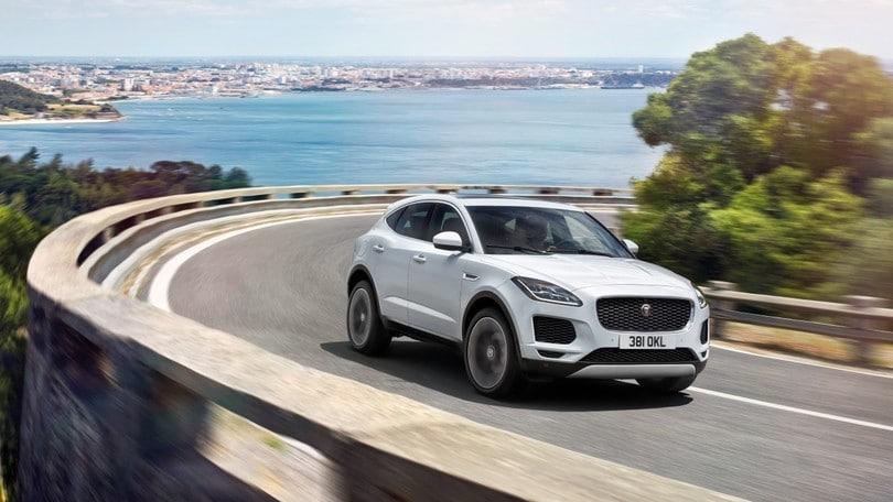 Jaguar E-Pace, dietro le quinte del salto da record